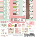 Набор бумаги от Echo park - Bunble of Joy Girl - Baby Girl Collection Kit - ScrapUA.com