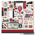 Набор наклеек Carta Bella Well Travelled - Element Stickers, размер 30х30 см - ScrapUA.com