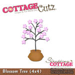 Лезвие CottageCutz - Blossom Tree in a Pot, 10х10 см - ScrapUA.com