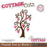 Лезвие CottageCutz - Flourish Tree, 10х10 см - ScrapUA.com
