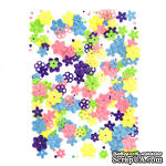 Пайетки Flowers цветочки, 20 г, TM dpCraft (Dalprint) - ScrapUA.com