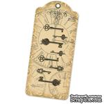 Ключики Graphic 45 - Staples - Ornate Metal Keys - ScrapUA.com