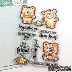 Набор штампов Gerda Steiner - More than Pie with Cute Bear and Pie 4x6 Clear Stamp Set - ScrapUA.com