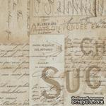 Ткань 100% хлопок - Tim Holtz Eclectic - French-Neutral, 45х55 см - ScrapUA.com