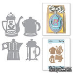 Ножи от Spellbinders - Coffee Brewing - ScrapUA.com