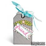 Лезвия Sizzix - Thinlits Die - Floral Arch and Words, 4 шт. - ScrapUA.com