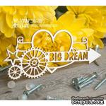 Чипборд ScrapBox - стимпанк Big Dream Ht-051 - ScrapUA.com