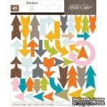 Набор наклеек Studio Calico - Here And There Cardstock Stickers - Arrows - ScrapUA.com