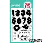Акриловый штамп Avery Elle - Numbered Balloons Clear Stamps - ScrapUA.com