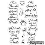 Штампы от Memory Box - Love and Friendship Clear Stamp Set - ScrapUA.com