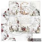 "Лист скрапбумаги от ABstudio - Scrapbooking paper ""Breeze of the forest""- sheet 2 - 30х30см - ScrapUA.com"