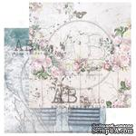 "Лист скрапбумаги от ABstudio - Scrapbooking paper ""Behind closed doors"" sheet 4 - My inspiration - 30х30см - ScrapUA.com"