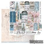 "Лист скрапбумаги от ABstudio - Scrapbooking paper ""Shabby love symphony""- sheet 6 - 30х30см - ScrapUA.com"