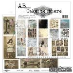 "Набор бумаги от ABstudio - ""Take me there""- scrapbooking paper set 8x 30х30см + bonus - ScrapUA.com"
